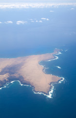 Fuerteventura, Canary islands, from the air