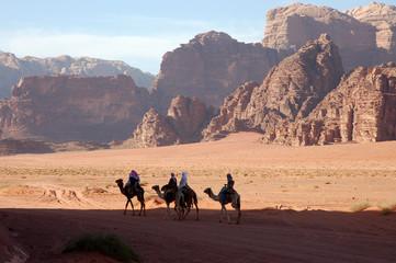 Wadi Rum desert safari, Jordan.