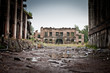 War devastation fear , scenery, wet, dirty, home town - 72261106