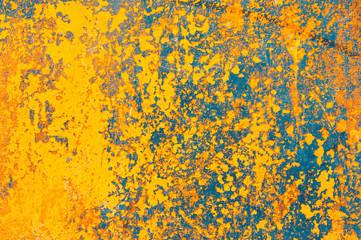 grunge yellow wall