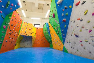 Indoor climbing training