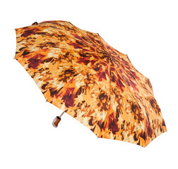 Bright umbrella isolated on white