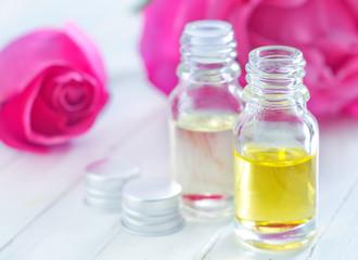 aroma oil in bottle