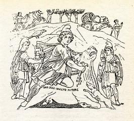 Tauroctony - Mithras killing the bull
