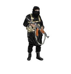 Islamischer Terrorist IS