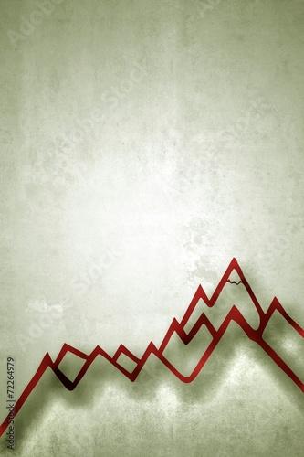canvas print picture Bergwelt - Berggipfel...