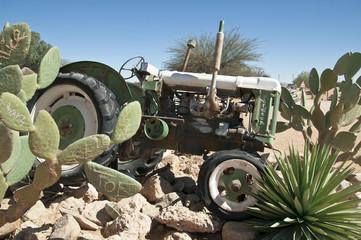 Oldtimer, Traktor, Solitaire, Namibia, Afrika