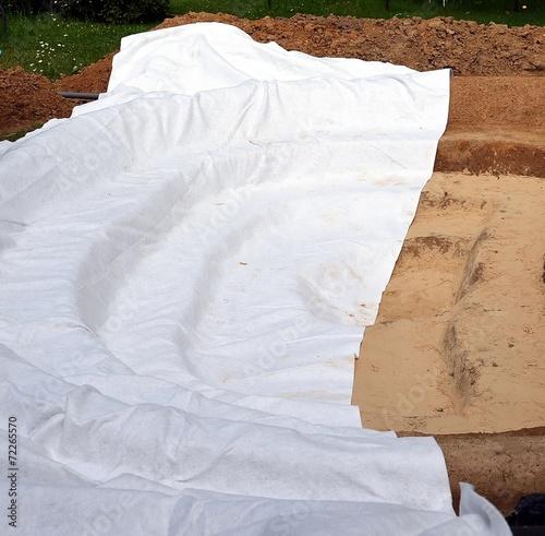 Construction d'un bassin de jardin - 72265570