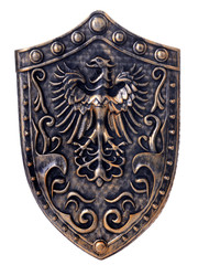 Shield with eagle