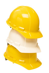 Stacked Hard Hats