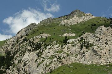 Roc de la musique,Pyrénées ariégeoises