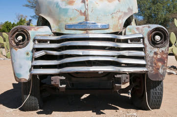 Oldtimer, Solitaire, Namibia, Afrika
