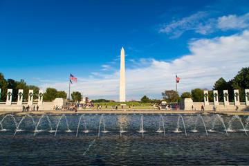 The U.S. National World War II Memorial in Washington DC,USA