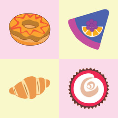 flat icon snack. concept vector illustration