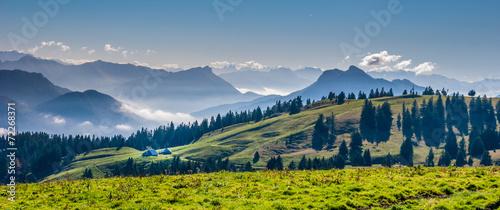 Aluminium Alpen Plateau du Semnoz