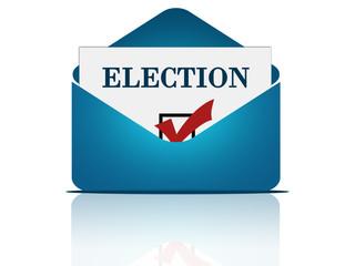 Postal voting concept