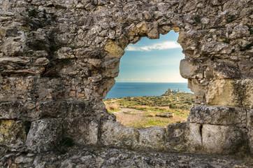 Sardegna, Cagliari, rovine del forte di Sant'Elia