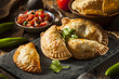 Homemade Stuffed Chicken Empanadas - 72272981