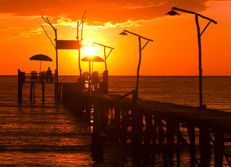 Jetty to Eternity Way to Sunset