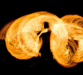 Fiery Motion Burning Man