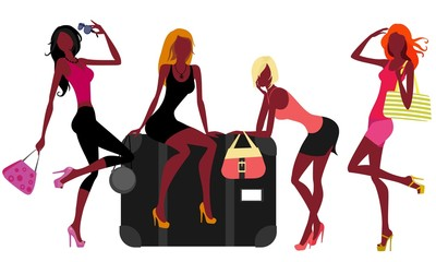 ladies going on holiday