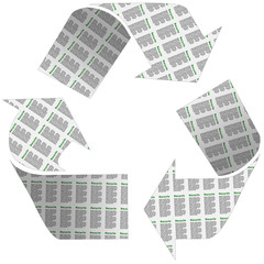 Recycle Newspaper Symbol