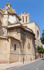 Tarragona Cathedral facade