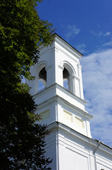 The tower of the Church in Brest