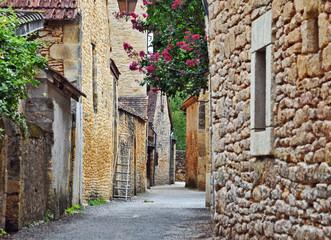 Il villaggio di Saint Leonce sur Vezere, Dordogna - Aquitania