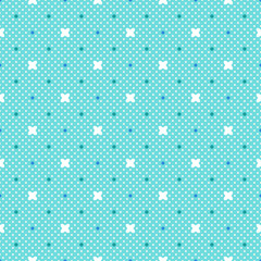 Vector Background # Polka Dot Pattern, Mintgreen