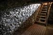 Leinwandbild Motiv old cellar