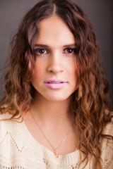 Headshot of a cute Latin girl