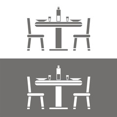Icono almuerzo BN