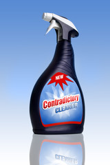 Contradictory cleaner