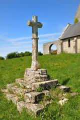 Croix celtique en Bretagne