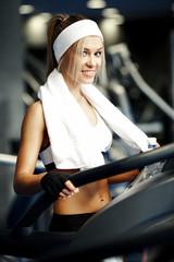 Fitness on a treadmill