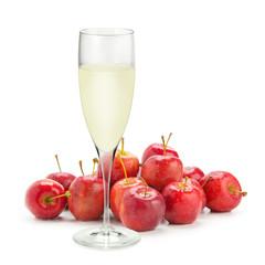 姫リンゴとジュース
