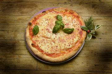 Pizza Margherita マルゲリータ (ピッツァ) Expo Milano 2015