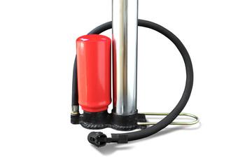 Manual Air Pump with Red Pressure Tank