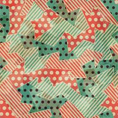 vintage cloth geometric seamless texture