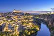 Toledo, Spain Town Skyline at Dawn