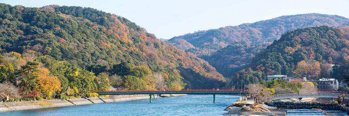 Panorama of Uji Kyoto Japan