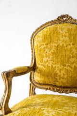 Yellow sofa Armchair