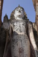 Ancient Buddha Statue of Sukhothai, World heritage in Thailand