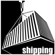 shipping black and white - 72288560