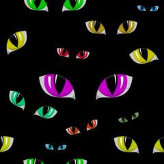 Cat Eye Seamless Texture