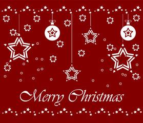 "Grußkarte ""Merry Christmas"""