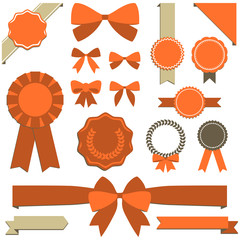 Ribbons, banners and seals