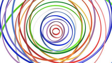 カラフルな3D-CG背景イメージ