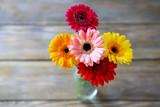 bright summer flowers